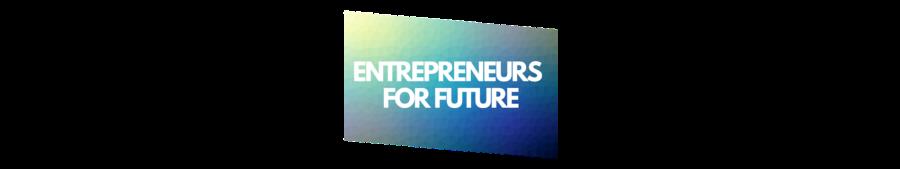 Logo entrepreneursforfuture long